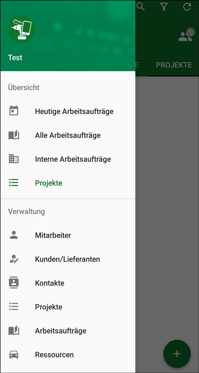 MontageAkte Übersicht App